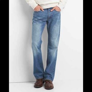 NEW Gap Low Rise Boot Cut Jeans 36/34